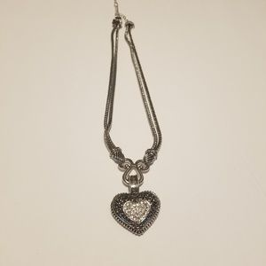 Lia Sophia love dust heart necklace